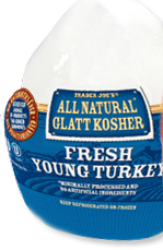 Trader Joe's Glatt Kosher Fresh Young Turkey