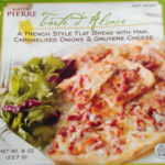 Trader Joe's Flat Bread with Ham, Caramelized Onions & Gruyere Cheese