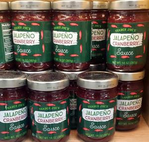 Trader Joe's Jalapeño Cranberry Sauce