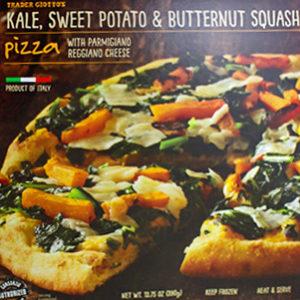 Trader Joe's Kale, Sweet Potato & Butternut Squash Pizza