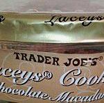 Trader Joe's Milk Chocolate Macadamia Nut Lacey's Cookies