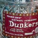 Trader Joe's Oatmeal Cranberry Dunkers