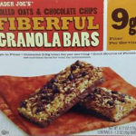 Trader Joe's Chocolate Chip Fiberful Granola Bars