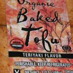 Trader Joe's Organic Baked Tofu Teriyaki Flavor