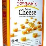 Trader Joe's Organic Mini Cheese Sandwich Crackers
