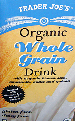 Unsweetened Organic Whole Grain Drink