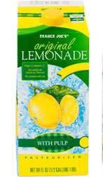 Trader Joe's Original Lemonade With Pulp