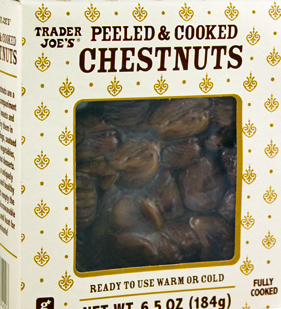 Trader Joe's Peeled & Cooked Chestnuts