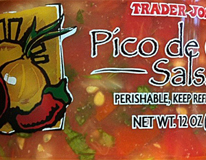 Trader Joe's Pico de Gallo Salsa