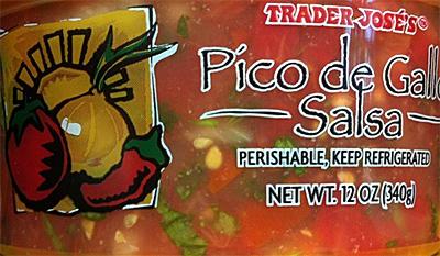 Trader Joe's Pico de Gallo Salsa