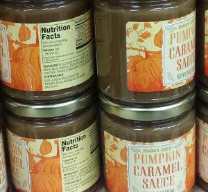 Trader Joe's Pumpkin Caramel Sauce