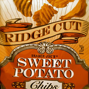 Trader Joe's Ridge Cut Sweet Potato Potato Chips