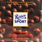 Trader Joe's Ritter Sport Dark Chocolate with Hazelnut
