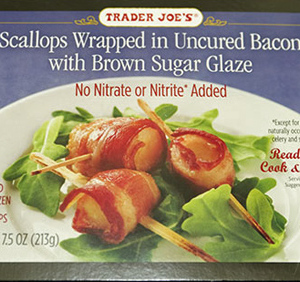 Trader Joe's Scallops Wrapped in Bacon with Brown Sugar Glaze Reviews ...