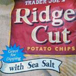 Trader Joe's Sea Salt Ridge Cut Potato Chips