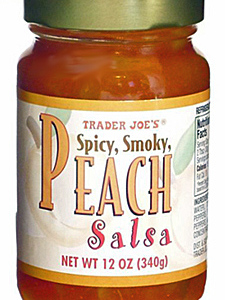 Trader Joe's Spicy Smoky Peach Salsa