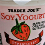 Trader Joe's Strawberry Soy Yogurt