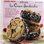Trader Joe's Chocolate Chip Cookie Ice Cream Sandwiches