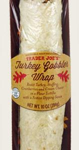 Trader Joe's Turkey Gobbler Wrap