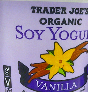 Trader Joe's Vanilla Soy Yogurt