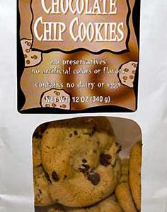 Trader Joe's Vegan Chocolate Chip Cookies