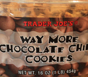 Trader Joe's Way More Chocolate Chip Cookies