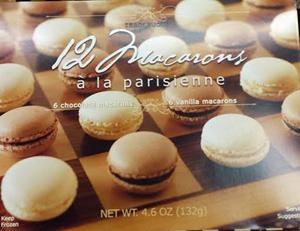 Trader Joe's 12 Macarons a la Parisienne