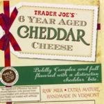 Trader Joe's 6 Year Aged Cheddar Cheese