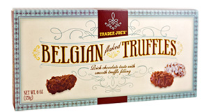 Trader Joe's Belgian Flaked Truffles