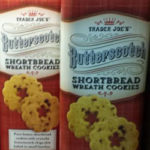 Trader Joe's Butterscotch Shortbread Wreath Cookies