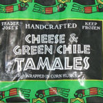 Trader Joe's Cheese & Green Chile Tamales