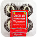 Trader Joe's Chocolate Coconut Cream Cupcakes