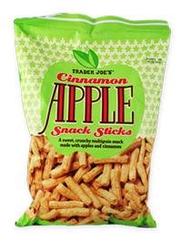 Trader Joe's Cinnamon Apple Snack Sticks