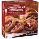 Trader Joe's Cranberry Walnut Croissant Ring