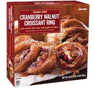 Trader Joe's Cranberry Walnut Croissant Ring