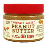 Trader Joe's Crunchy Salted Peanut Butter with Flax & Chia Seeds