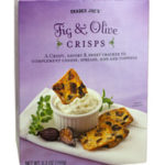 Trader Joe's Fig & Olive Crisps