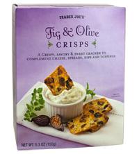 Trader Joe's Fig & Olive Crisps