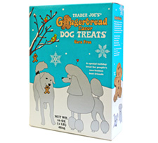 Trader Joe's Gingerbread Flavored Dog Treats