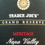 Trader Joe's Grand Reserve Meritage Napa Valley