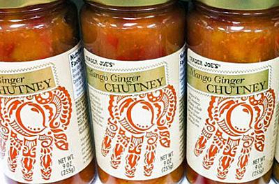 Trader Joe's Mango Ginger Chutney