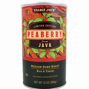 Trader Joe's Peaberry from Java Coffee
