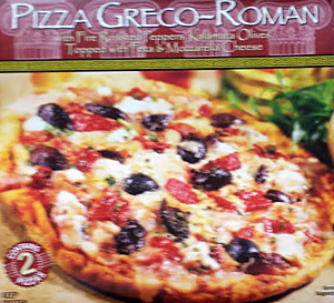 Trader Joe's Pizza Greco-Roman