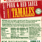 Trader Joe's Pork & Red Sauce Handmade Tamales