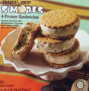 Trader Joe's S'mores Ice Cream Sandwiches