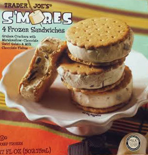 Trader Joe's S'mores Ice Cream Sandwiches Reviews - Trader ...