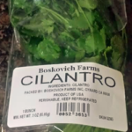 Trader Joe's Boskovich Farms Cilantro