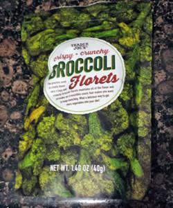 Trader Joe's Crispy Crunchy Broccoli Florets