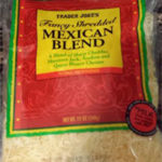 Trader Joe's Mexican Blend Shredded Cheese