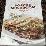 Trader Joe's Porcini Mushroom Lasagna